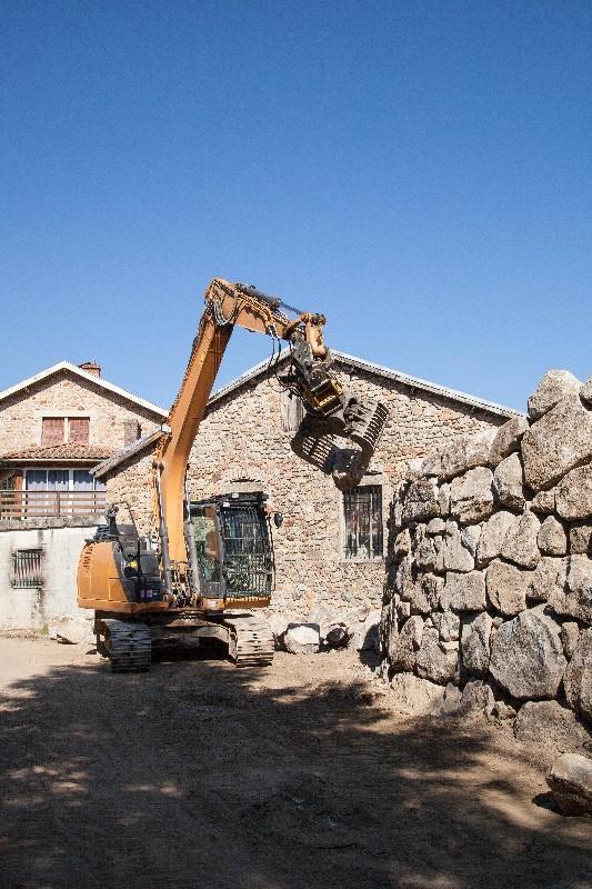 L'enrochement en soutènementpour plus de sécurité dans l'Hérault | Melia Terrassement