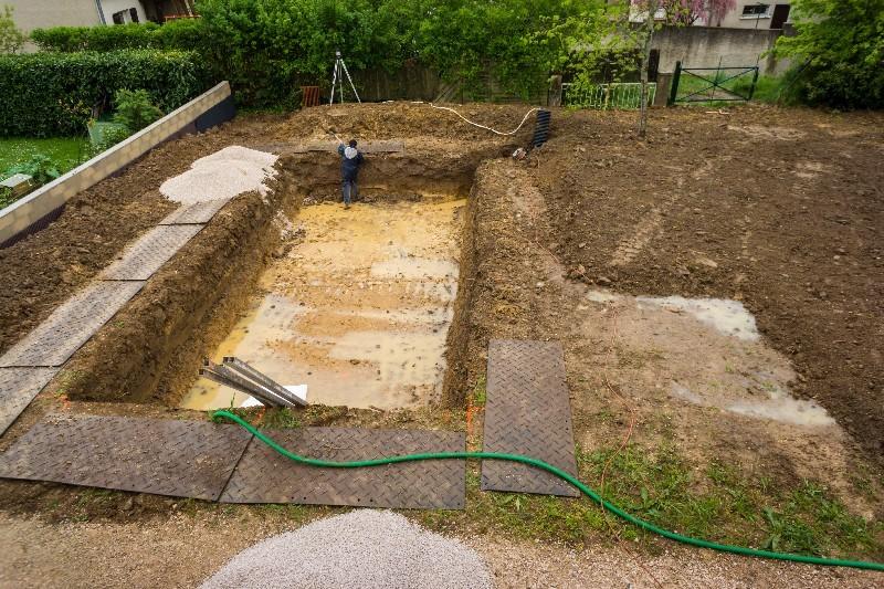 Les étapes du terrassement de piscine dans l'Hérault | Melia Terrassement