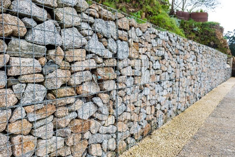 pose de mur de soutènement dans l'Hérault | Melia Terrassement