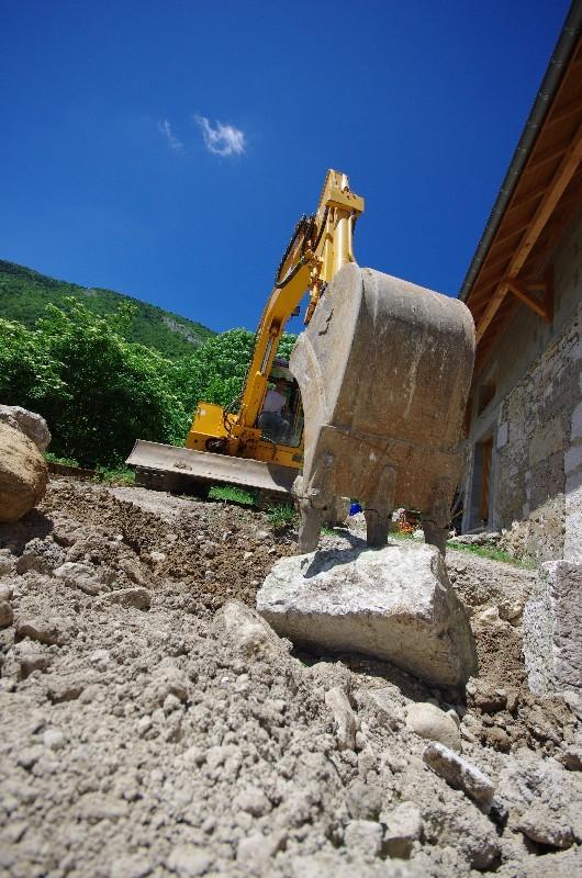 L'enrochement selon la taille des pierres   Melia Terrassement
