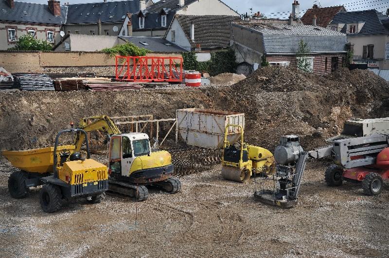 Quel matériel utilisé pour faire un terrassement dans l'Hérault | Melia Terrassement